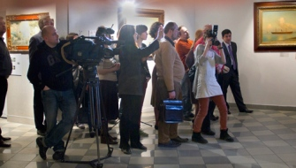 """Выставка """"Шедевры подделки"""" вызвала ажиотаж среди представителей прессы"""