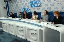 """пресс-конференция в ИА """"ИТАР-ТАСС"""" перед открытием выставки """"Шедевры подделки"""""""