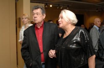Николай Караченцов и Людмила Поргина - частые гости нашего Музея