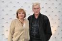 Актер Борис Щербаков с супругой Татьяной Бронзовой  на церемонии открытия Музея.