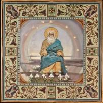14. П.А. Сведомский, В.А. Котарбинский. Бог Отец. (Почил Господь в день седьмой). После реставрации.