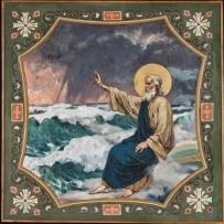 4. П.А. Сведомский. Второй день творения. Отделение тверди от воды. После реставрации.
