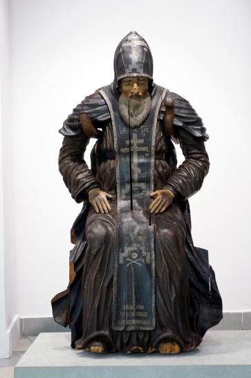 """Перед началом реставрации скульптура экспонировалась две недели в музее """"Дом Иконы и Живописи имени С.П. Рябушинского"""""""