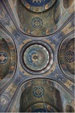Собор во имя Вознесения Господня. Г. Новочеркасск. Интерьер. Вид на центральный купол.